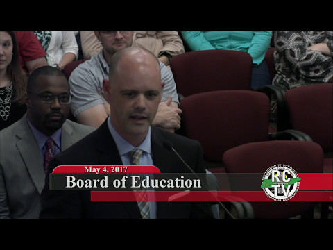Board of Education - May 4, 2017
