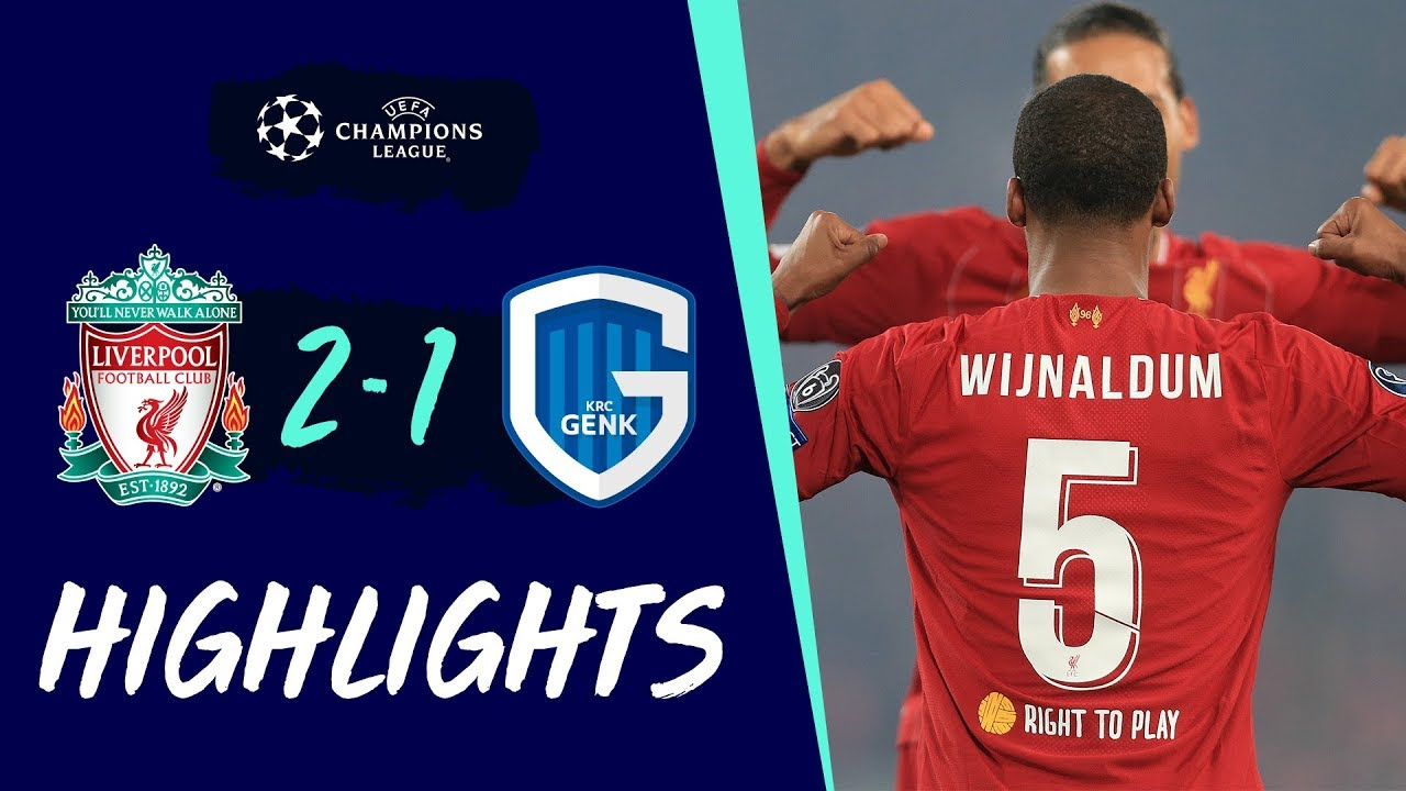 Liverpool 2-1 Genk | Gini & Ox goals see off Genk | Highlights