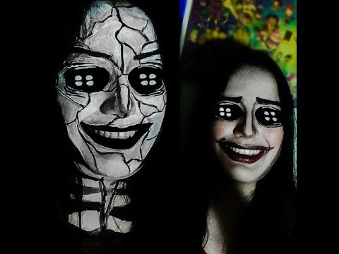 Coraline The Other Mother Good Evil Makeup Tutorial Youtube