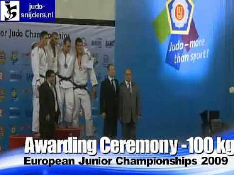 Judo 2009 Yerevan: Awarding Ceremony [-100kg]