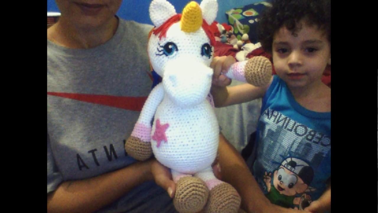 Amigurumi Unicornio Tutorial : Amigurumi unicornio tutorial kalulu for