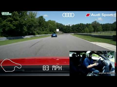 Driving the 2018 Audi RS 3 on Lime Rock Park