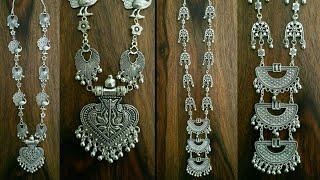 Latest Oxidized silver Necklace | Tribal Necklaces | Oxidized Jewellery