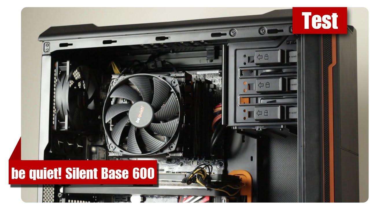 Cowcot TV] Présentation boitier be quiet! Pure Base 600 Window .