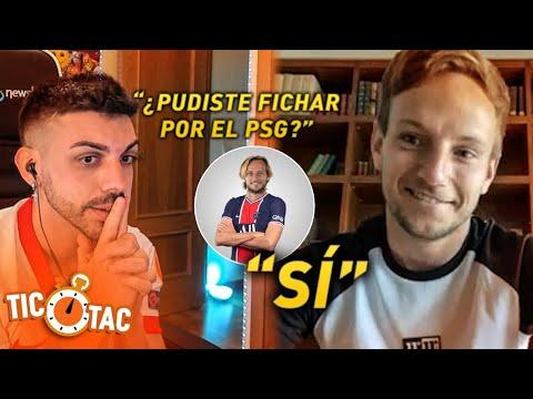 ¿PUDISTE FICHAR POR EL PSG? | TIC TAC CHALLENGE con RAKITIC y DjMaRiiO