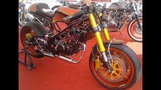 Full Modifikasi Honda CB 150 R Custom Cafe Racer Bobber Mp3