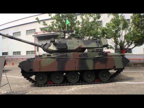 兵整中心營區開放 M41D戰車