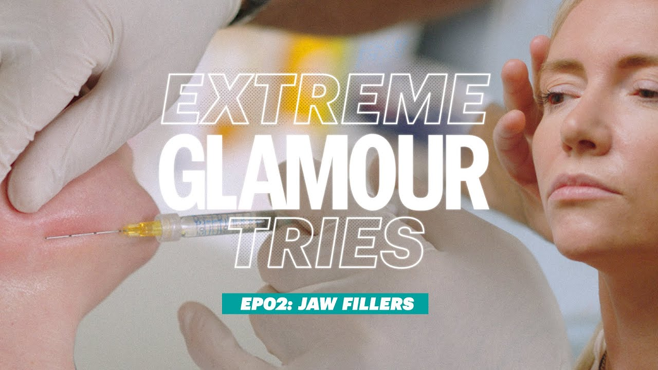 Extreme GLAMOUR Tries: Jaw Fillers  | GLAMOUR UK