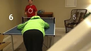 Crazy ping pong battle Insane LOSER DARE