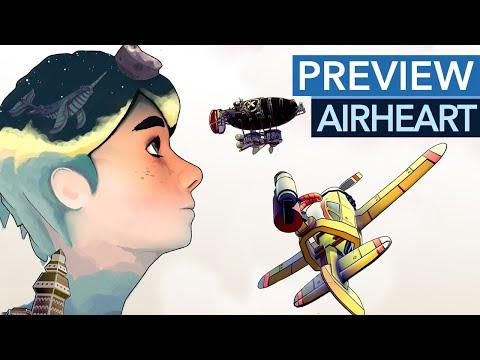 Airheart - Was taugt die Flugzeug-Action mit Diesel-Punk-Setting?