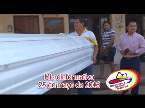Microinformativo 25 mayo 2016
