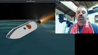 LIVE - Chuva de meteoros perseidas e missão Parker solar