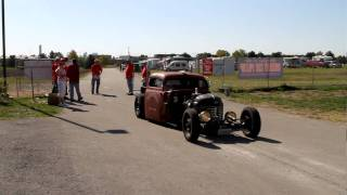 Psycho Magnet Dot Com Rat Rod at Hunnert Car Pileup Decatur IL