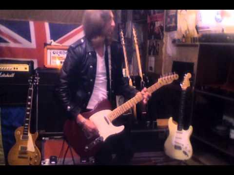 2007 Fender American Standard Telecaster Red