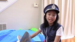 Pretend Play Police Uses NEW LIE Detector Test to Find the Treasure Chest