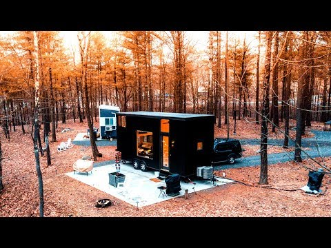 Tiny House In The Catskill Mountains Youtube