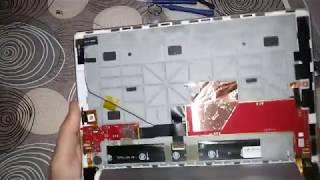 видео Замена батареи на планшете леново