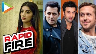 Mawra Hocane's SUPER-CUTE Rapid Fire On Ranbir Kapoor | Salman Khan | Ryan Gosling