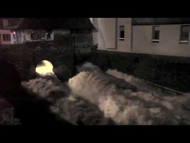 Tempête à Landerneau