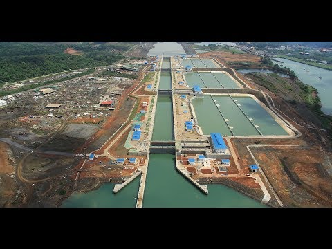 Digital Twinning the Panama Canal