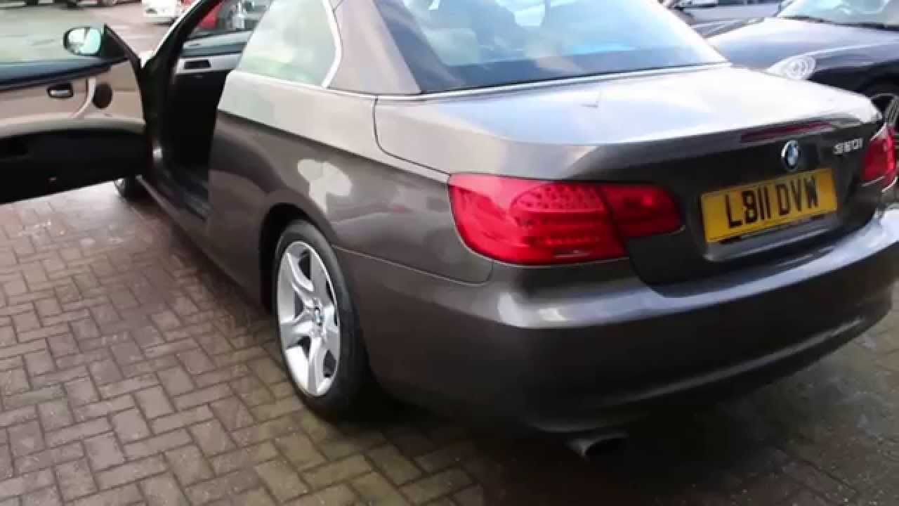 Bmw 320i Se Convertible Finished In Havana Brown At Rix