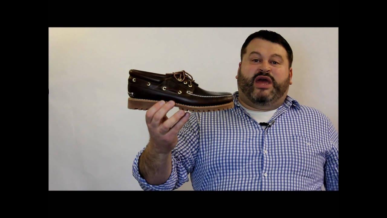 Timberland Boat Shoe Repair