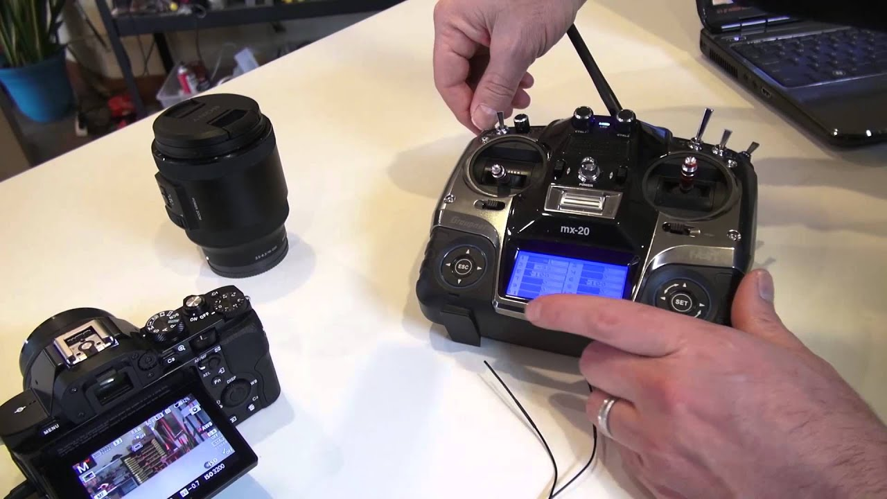 Quadrocopter Tutorial - Remote Shutter/Zoom Cable for Sony A7s