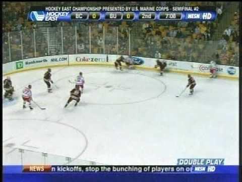 Hockey East Semifinal - Boston College vs. Boston University - 03/20/09
