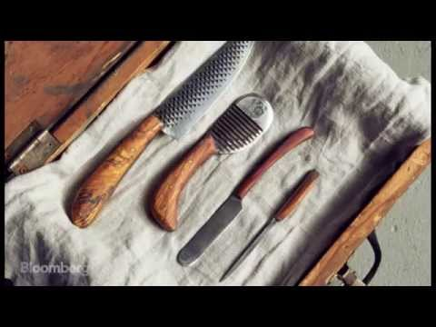 The High-End Knife Maker Crafting One-of-a-Kind Blades