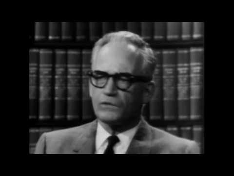 Mr  Conservative Barry Goldwater