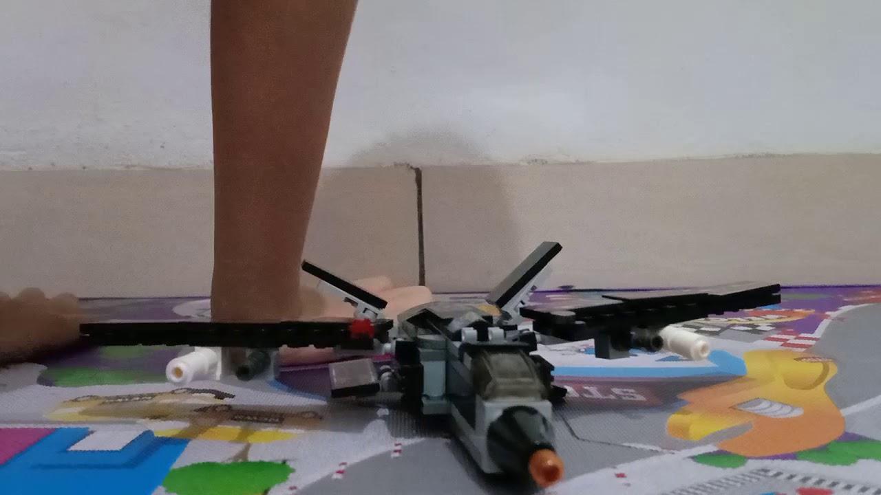 Pesawat tempur lego - YouTube