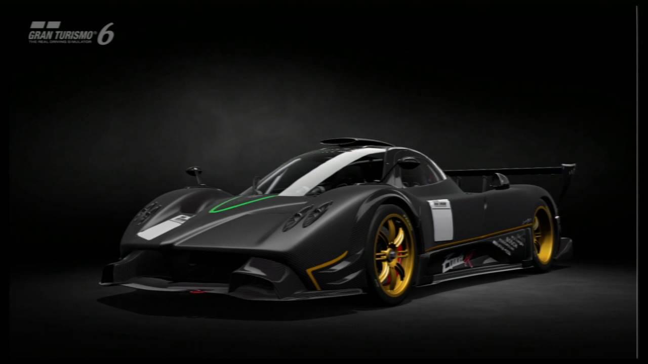 Gran Turismo 6 - Pagani Zonda R '09 - YouTube