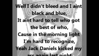 Eric Church- Jack Daniels with lyrics