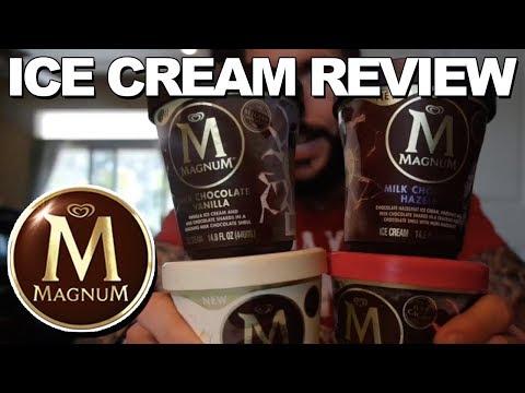 Ice Cream Review: Magnum Ice Cream Pints