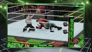 WWE 2K18 Universe Mode Money In The Bank PPV John Cena, Shield, Aj Styles, Episode 4