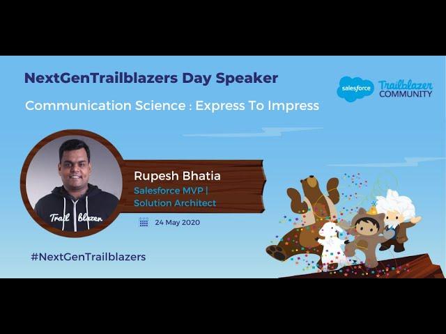 Communication Science: Express to Impress | NextGenTrailblazers Day Inaugural