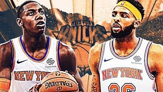 Rebuilding the NY Knicks in NBA 2K20...Realistically