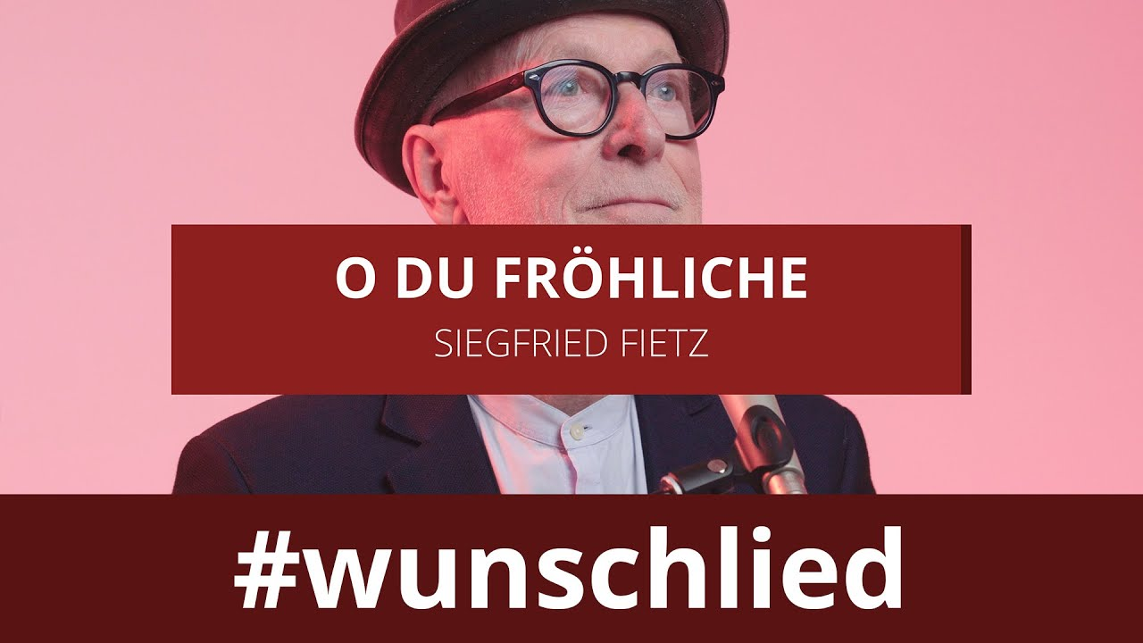 Siegfried Fietz singt 'O du fröhliche' #wunschlied