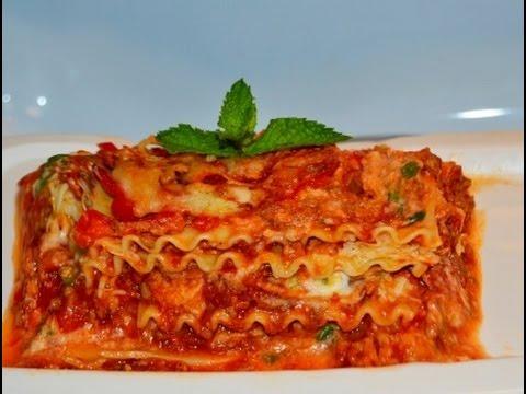 Desi Lasagna Recipe - YouTube