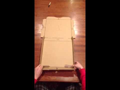 new record for folding dominos pizza boxes funnycat tv. Black Bedroom Furniture Sets. Home Design Ideas