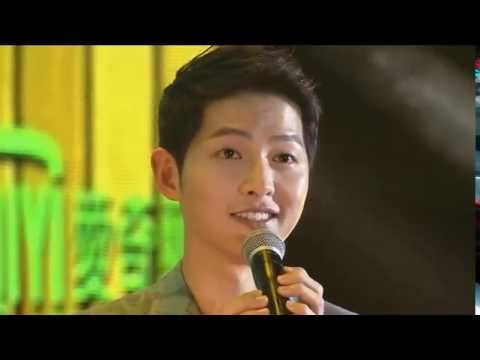 160625 송중기 Song Joong Ki sing You Are My Everything @ Taiwan Fan Meeting 宋仲基台湾粉丝见面会