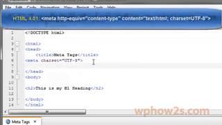 HTML5 Basics - #11 Meta Tags
