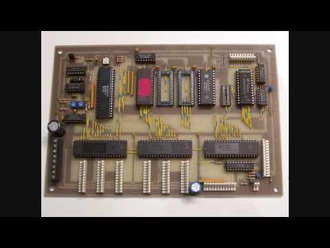 Homemade Zilog Z80 Single Board Microcomputer with LCD Display 32 Keys 8ch 8-bit ADC PC