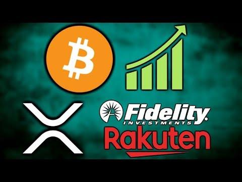 BITCOIN Pumps! - Rakuten Crypto Exchange Live - Fidelity XRP - Santander Ripple - BoA Crypto Patent