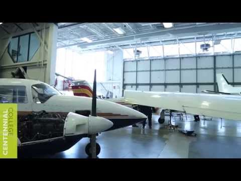 Centennial College: Aircraft Technician- Aircraft Maintenance Walk Through