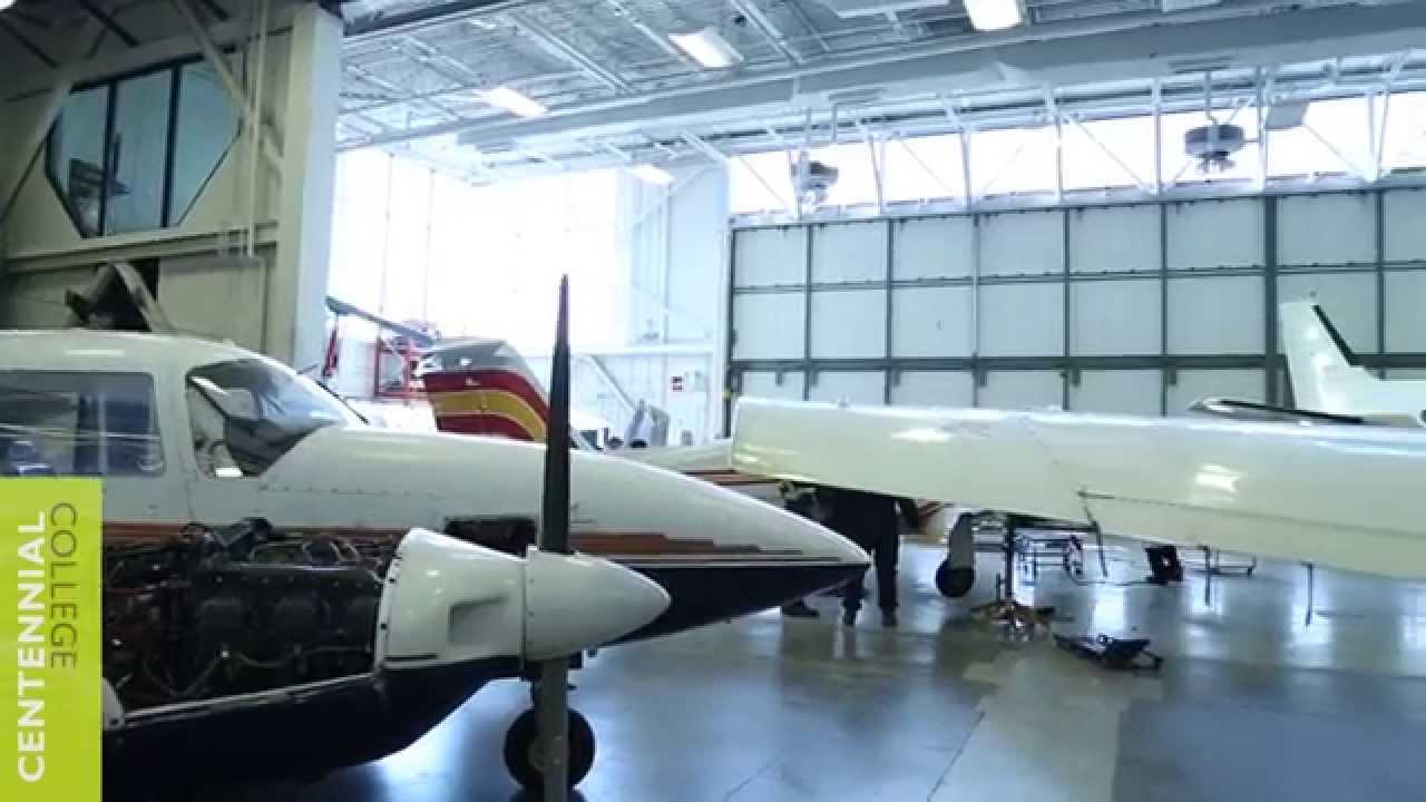centennial college aircraft technician aircraft maintenance walk through youtube