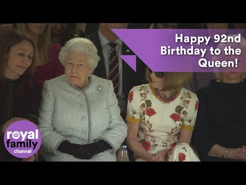 Happy 92nd Birthday to the Queen! A look back at the last year