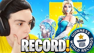 I BOUGHT ELSA'S NEW SKIN AND I HIT MY KILLS RECORD! L FORTNITE