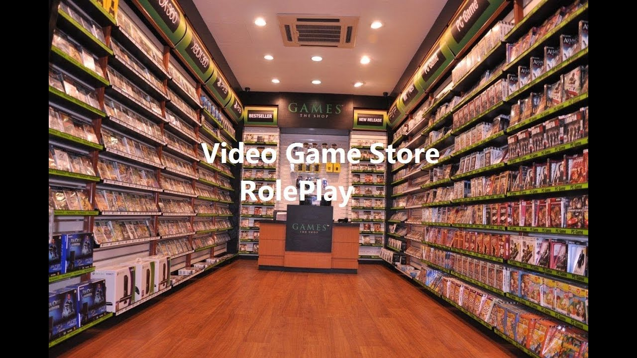 Meuble Jeux Video Asmr Whisper Video Game Store Role Play Youtube