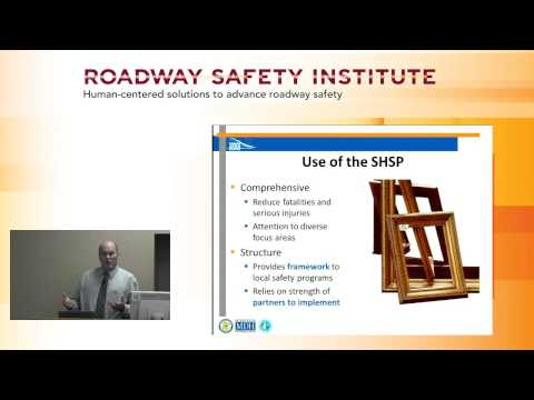 2015 Fall Seminar #1: The Minnesota Strategic Highway Safety Plan